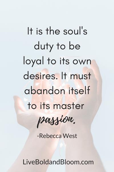 mains, comment trouver votre passion de la vie