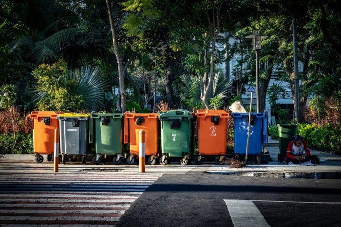 les bacs de recyclage changent le monde