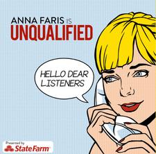 anna faris est la meilleure relation de podcasts non qualifiée