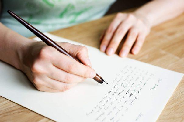 personne écrivant, déclaration de mission personnelle