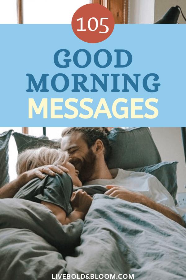 Utilisez cette liste de messages de bonjour pour partager une pensée affectueuse. Surprenez-le avec un SMS ou une note manuscrite du matin.