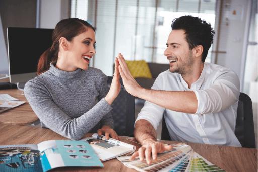 couple élevé cinq différents types de relations amoureuses