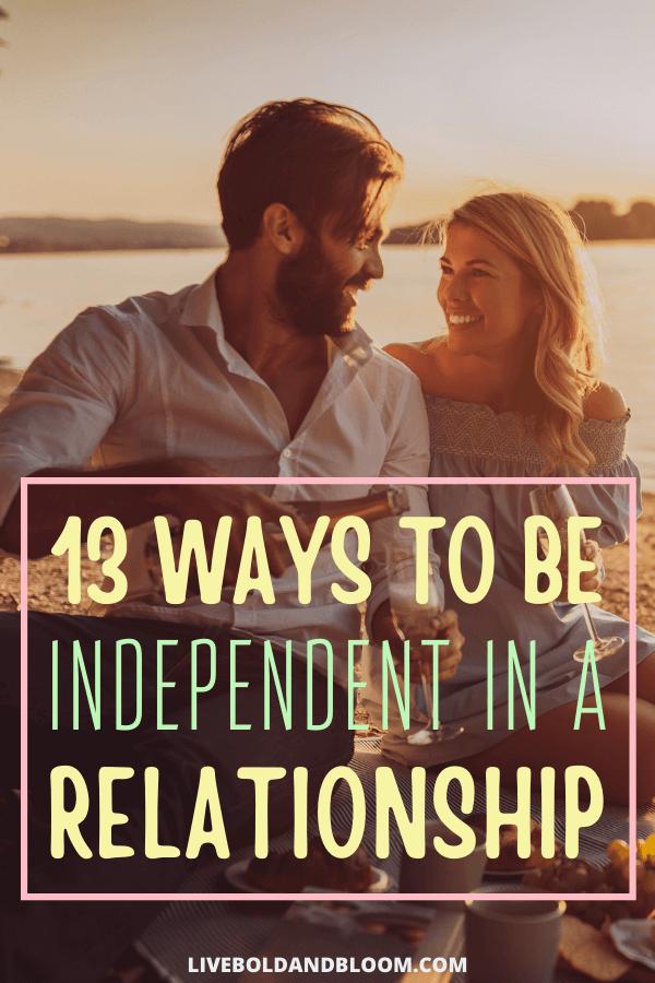 On peut toujours conserver son indépendance même après avoir été engagé dans une relation.  Lisez cet article pour en savoir plus sur la façon d'être indépendant dans une relation.