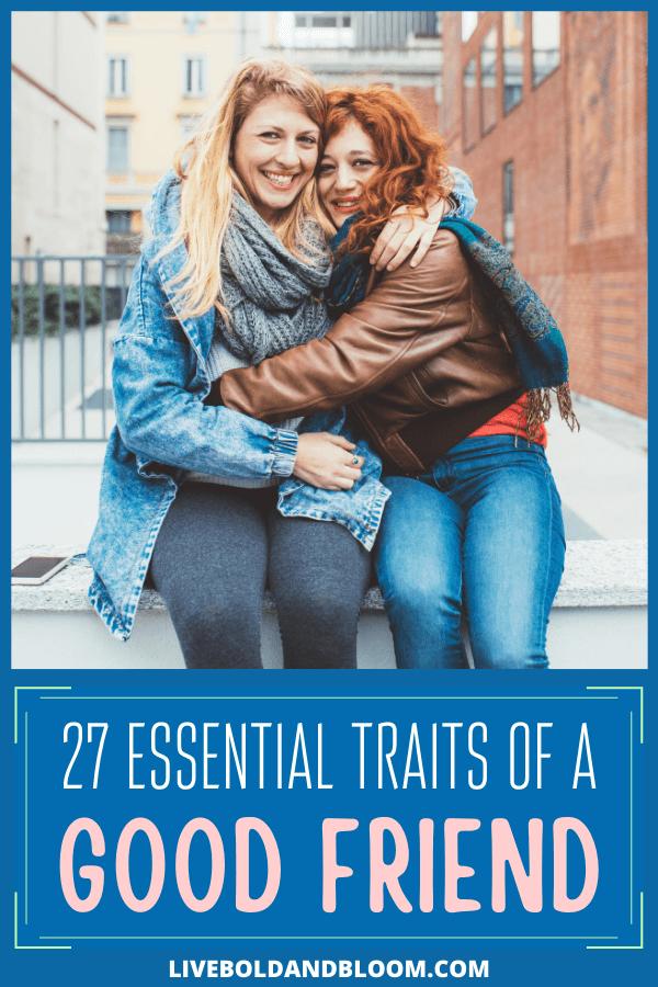 Tout le monde ne possède pas les qualités d'un bon ami.  Vous pouvez vous laisser emporter par l'excitation de vous faire un nouvel ami avant de savoir si cette personne a les caractéristiques nécessaires pour devenir un véritable ami.