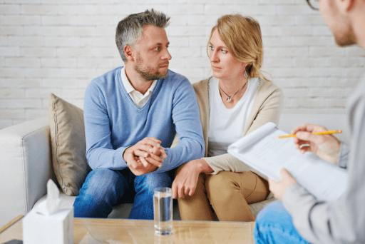 couple au mariage relation de conseil après avoir triché