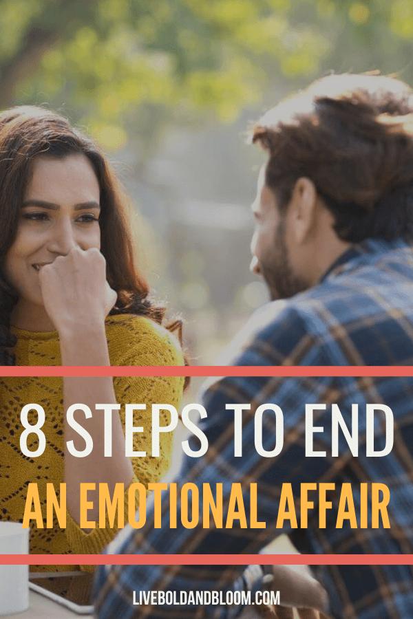 Il y a de nombreuses raisons pour lesquelles on finit par avoir une liaison émotionnelle.  Dans cet article, nous avons expliqué comment mettre fin à une liaison émotionnelle pour sauver votre mariage.