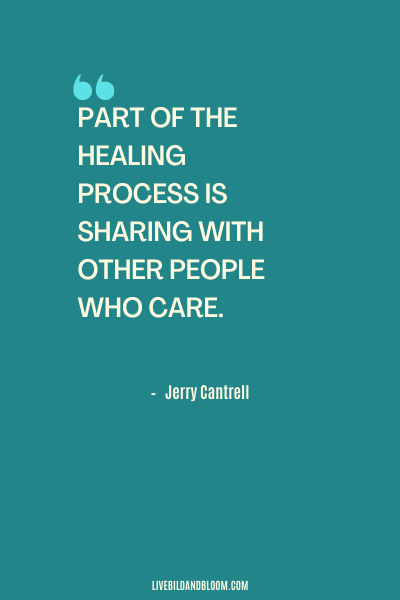 Citation d'abus émotionnel par Jerry Cantrell