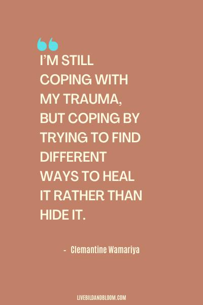 Citation d'abus émotionnel par Clemantine Wamariya