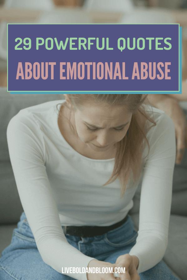 Ajoutez ces citations de maltraitance émotionnelle d'experts à votre routine quotidienne de guérison, organisée dans cet article.