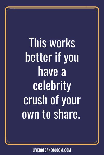 Parler des coups de cœur des célébrités