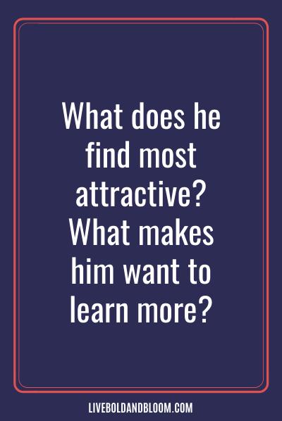 Quelles qualités remarque-t-il en premier chez une femme ?
