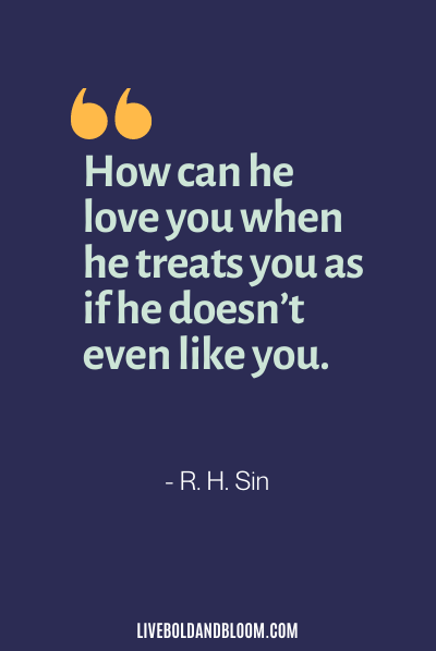 citations de mari irrespectueux par RH Sin
