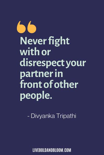citations de mari irrespectueux par Divyanka Tripathi