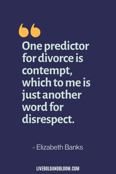 citations de mari irrespectueux par Elizabeth Banks